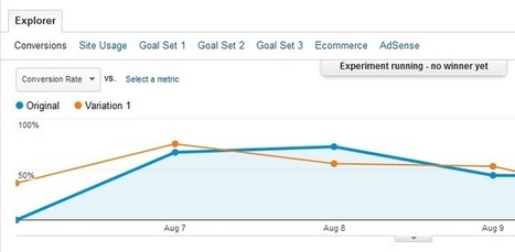 Content Experiments with Google Analytics | Optimization V | Google Analytics - what else? | Scoop.it