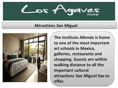 Los Agaves Hotel Boutique San Miguel | Los Agaves Hotel Boutique | Scoop.it