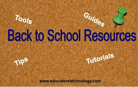 Excellent Back to School Resources for Teachers | Business Tips | Scoop.it