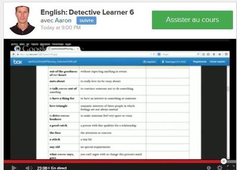 Apprendre les langues étrangères en direct et en vidéos gratuitement | ParisBilt | Scoop.it