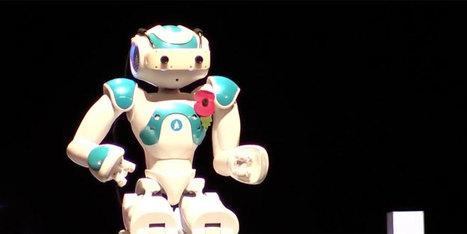 Pour la première fois, un robot tient une Ted Talk - H+ Magazine | Une nouvelle civilisation de Robots | Scoop.it