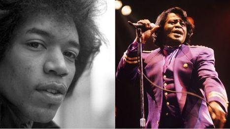 Jimi Hendrix, James Brown Honored, Spotify's Black History Month   Rolling Stone   02/02/15   FDW's Daily Scoops   Scoop.it