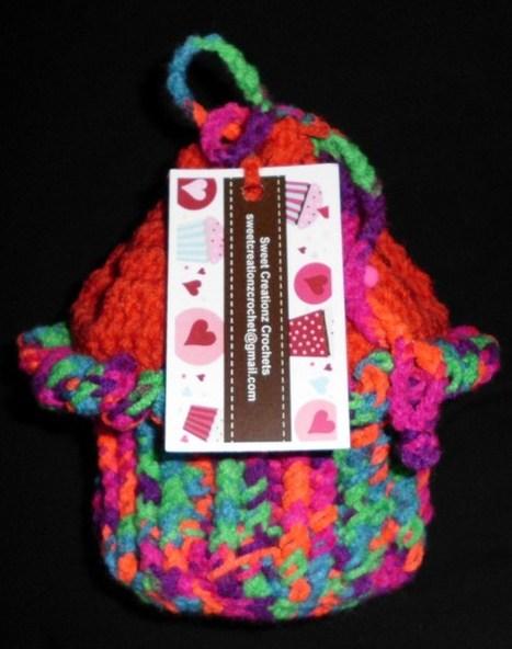 Crochet Little girls CUPCAKE PURSE~*PSYCHEDELIC*~L@@K~* | crochet | Scoop.it