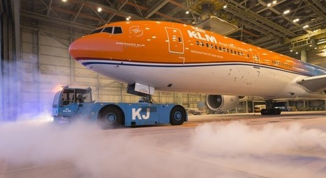 #Orangepride: KLM's unique orange aircraft to promote the Netherlands | Aviation & Airliners | Scoop.it