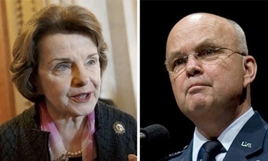 Fury at attack on Dianne Feinstein by ex-CIA director Michael Hayden | Business Video Directory | Scoop.it