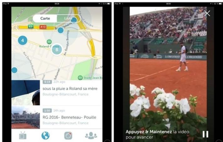 Roland-Garros: Comment Periscope se fait chasser des tribunes | Médias sociaux : Conseils, Astuces et stratégies | Scoop.it