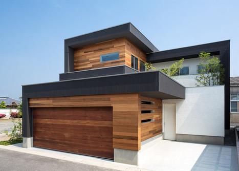 masahiko sato rhythmically arranges volumes of M4 house   Art, Design & Technology   Scoop.it