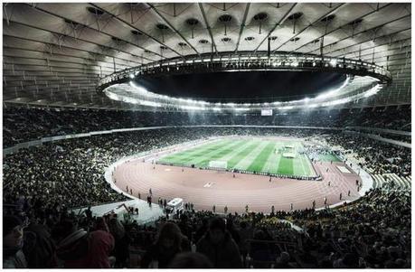 Olympiyskiy Stadium Kiev Seating Plan | Football Stadium Guides | Scoop.it