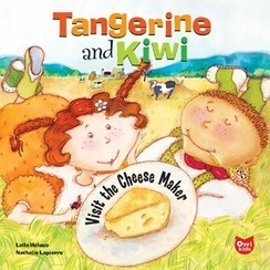 Tangerine and Kiwi: Visit the Cheese Maker. This is the Owlkids website - OwlKids | learning all about food | Scoop.it
