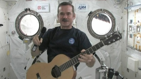 Son of Canadian astronaut Chris Hadfield explains why astronaut father's tweets went viral | More Commercial Space News | Scoop.it