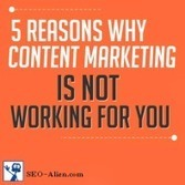 5 Reasons Why Your Content Marketing Is Not Working For You | Allround Social Media Marketing | Scoop.it