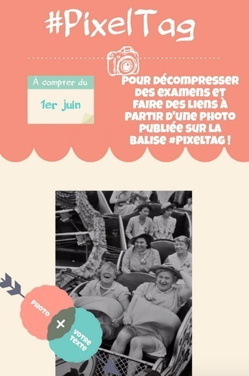 #PixelTag : une idée mariant créativité, plaisir de fin d'année et Twitter! | Apprendre à l'aide des réseaux sociaux | Scoop.it