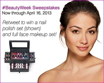 #BeautyWeek is here! Follow us & RT to ... | make-up for you! | Scoop.it