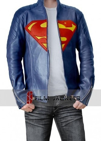 Man of Steel Jacket | Blue Superman Leather Costume - fjackets | House of outfits | Scoop.it