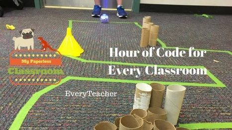 Learning How To #Code in EVERY Classroom! By @SamPatue · TeacherCast #hourofcode #makered | Education technology | Scoop.it