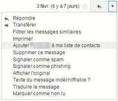 Désactiver la création automatique de contact de Gmail   Le Newbie   Au fil du Web   Scoop.it