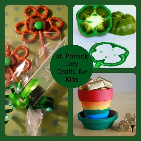 St. Patrick Day Crafts for Kids | Craft Ideas | Scoop.it