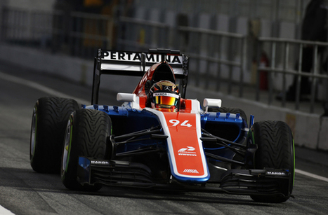 F1 news: Manor Racing introduces new MRT05 Formula 1 car in Barcelona test | F 1 | Scoop.it