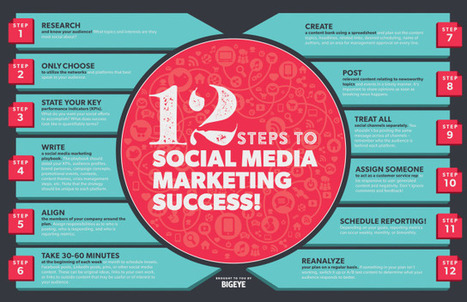 12 Steps to Social Media Marketing Success | MarketingHits | Scoop.it