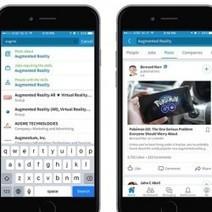Linkedin booste la fonction recherche de ses apps | Réseaux Sociaux & Social Network. Formation Viadeo & LinkedIn | Scoop.it