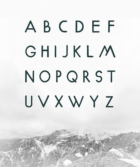 20 Gorgeous Free Geometric Fonts to Download | Graphic and Designer | Scoop.it