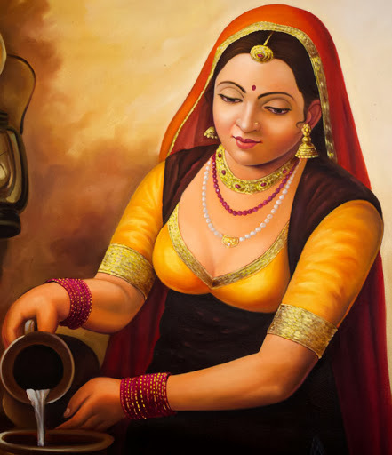 The original online indian art gallery by Asit Sarka | indianartnouveau | Scoop.it