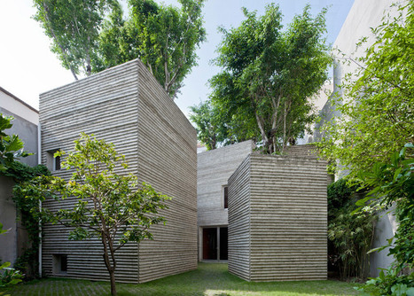 Trees grow on rooftops of house by Vo Trong Nghia Architects | The Blog's Revue by OlivierSC | Scoop.it