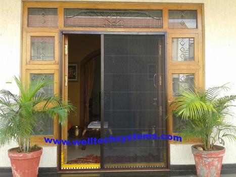 Mosquito screen Pleated Doors | Mosquito Screens Hyderabad | Scoop.it