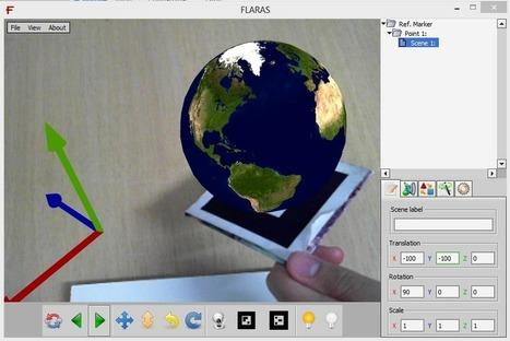 FLARAS » Ferramenta de Autoria de Aplicações de Realidade Aumentada | Educação e tecnologias digitais | Scoop.it