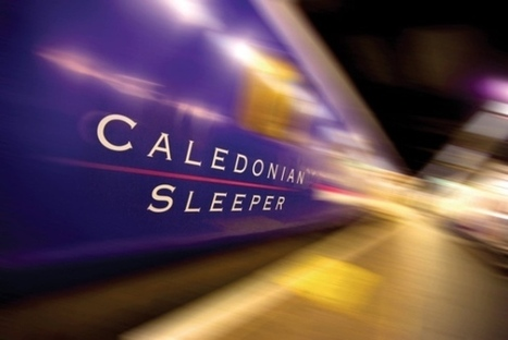 Caledonian Sleeper train will be 'Scotland on wheels' | Business Scotland | Scoop.it
