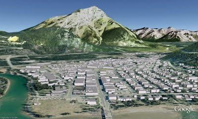 Google Earth: The Town of Banff goes on 3D map | Geospatial | Scoop.it