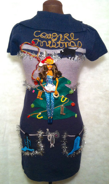 Ugly christmas sweater for cowgirls cowgirl cravings western