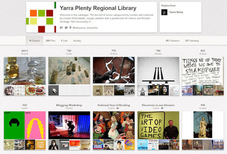 The Library Marketing Toolkit: Pinterest 101: A Primer for Libraries | Just Plain Interesting Stuff! | Scoop.it