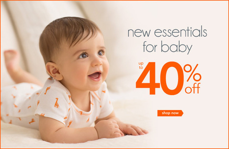Baby Neutral Clothes & Accessories | Carters.com | Shopping | Scoop.it