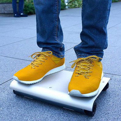 WalkCar transports passengers on a laptop-sized board | What's new in Design + Architecture? | Scoop.it