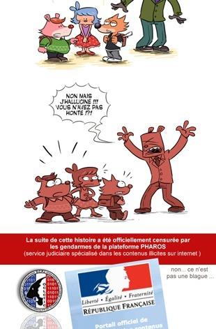 LOPPSI : Une BD en ligne censurée par ceux qui pourront filtrer sans juge   Webcomic-Bd en ligne   Scoop.it