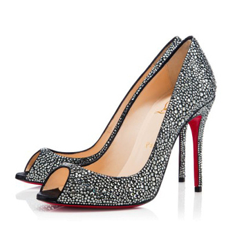 Sexy Strass Black Diamond 100mm Pumps [20131128] - $190.00 : bagbagsoutlets | bags outlet | Scoop.it