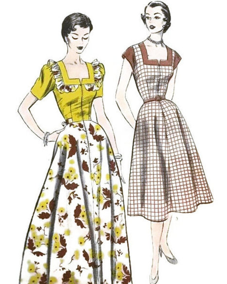 Vintage 1950s Pattern | whats been spotted on etsy today? | Scoop.it