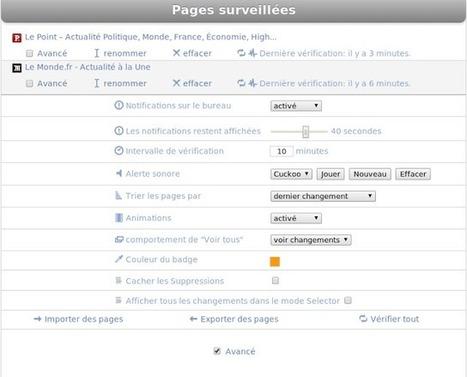 Chrome: surveiller des pages web avec Page Monitor | Geekologie.me | Au fil du Web | Scoop.it