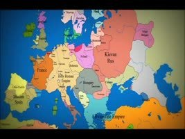 Map of Europe: 1000 AD to Present Day - all in a short VIDEO clip | Amazing Science | Scoop.it