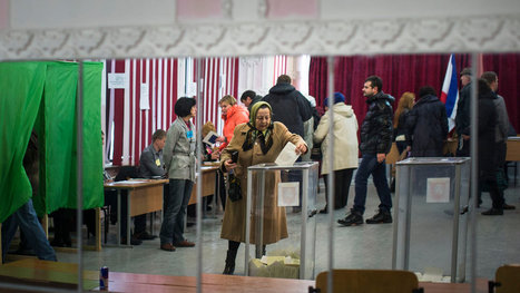 Crimea Votes to Secede From Ukraine as Russian Troops Keep Watch | Russia and Ukraine | Scoop.it