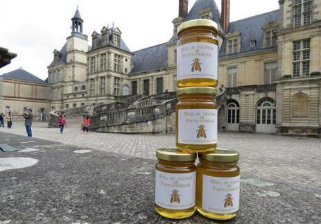 Le château de Fontainebleau lance son miel royal - Le Parisien | Le jardin stagirite | Scoop.it