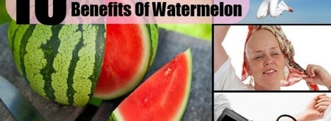 Health wp » 10 Amazing Health Benefits Of Watermelon | health | Scoop.it