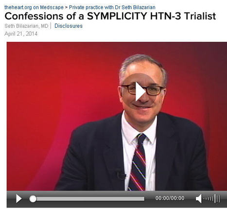 Confessions of a SYMPLICITY HTN-3 Trialist | Heart and Vascular Health | Scoop.it