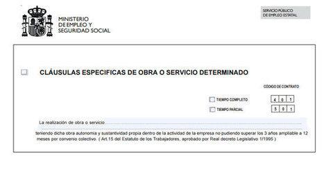 El contrato por obra o servicio | laboral | Scoop.it