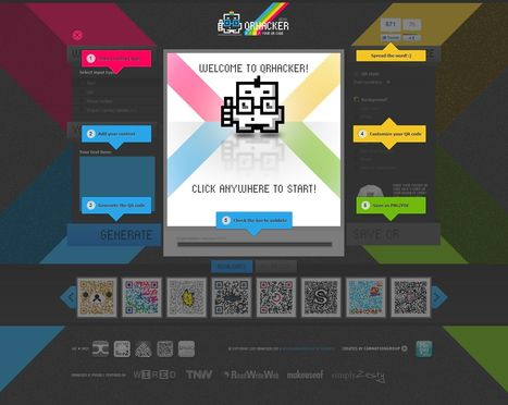 QRhacker.com lets you customize your QR codes online easily | Time to Learn | Scoop.it