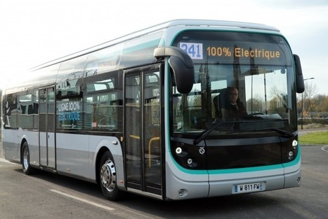 Paris : un parc de 25% de bus électriques ou au GNV pour 2020 (Connexion Transports Territoires, 29/09/2016) | Voitures au gaz naturel (GNV) | Scoop.it
