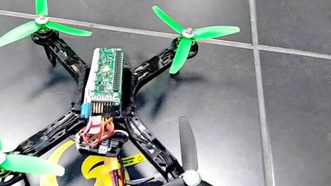 A Raspberry Pi Zero Drone #Droneday | Learning ... | Raspberry Pi | Scoop.it