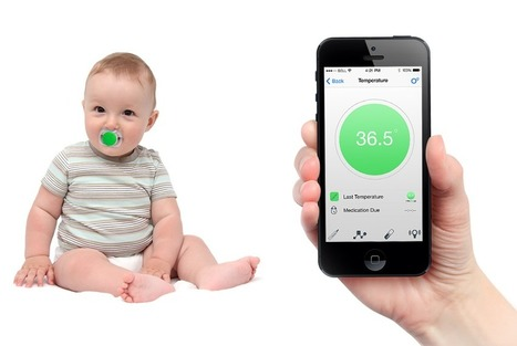 "Detect a child's temperature ""without disturbing them"" 