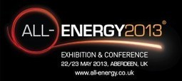 All Energy 2013 – The UK's Largest Renewable Energy Event 22 & 23 May | Paneuro.net | The urban.NET | Scoop.it